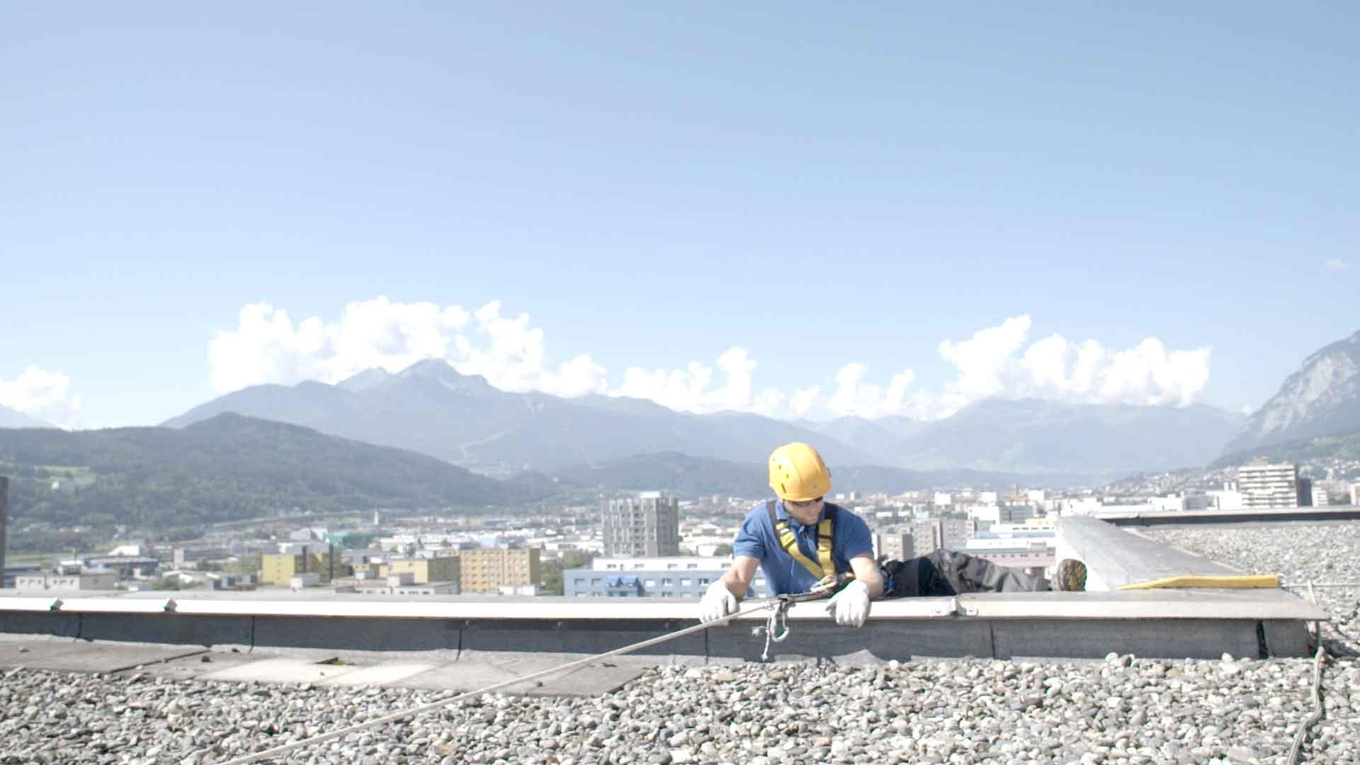 innsbruck höhenarbeit dach