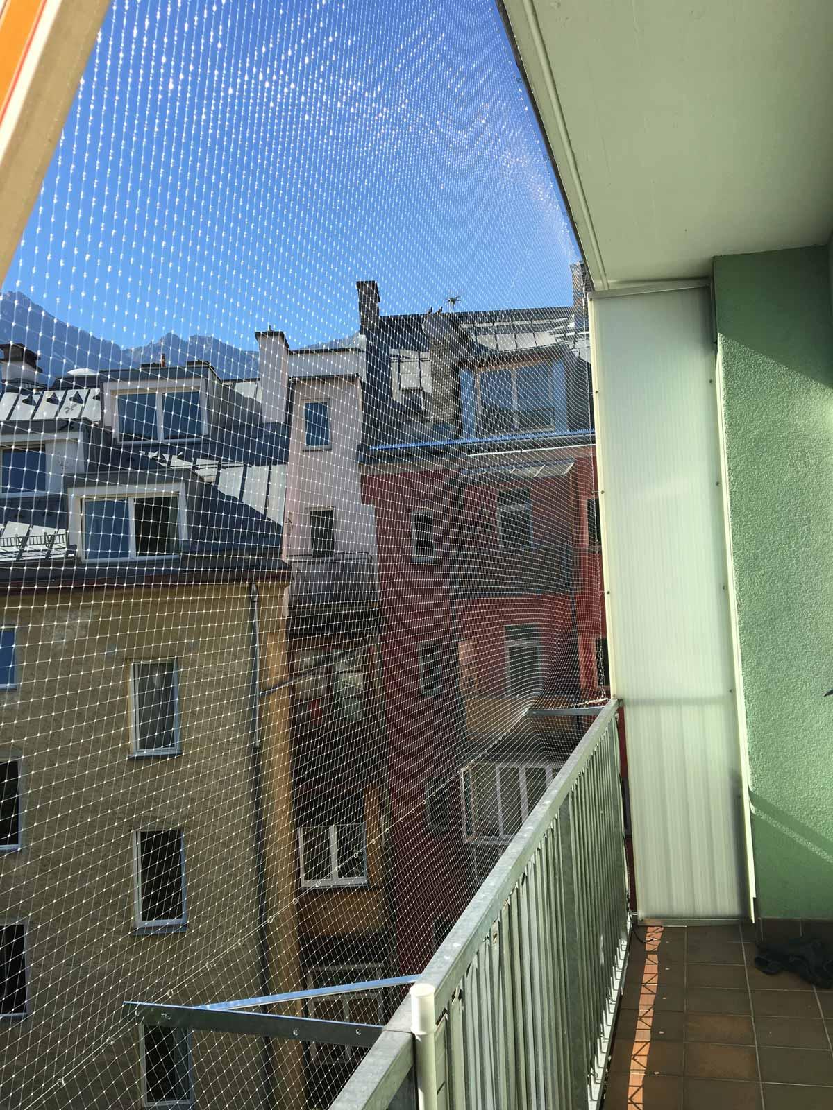 vogelschutzgitter balkon